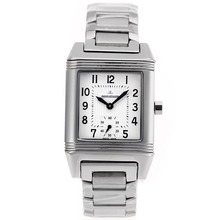 Replik Jaeger-Lecoulbre Reverso with White Dial S/S-Sapphire Glass – Attractive Jaeger-Lecoultre Reverso Watch for You 33894
