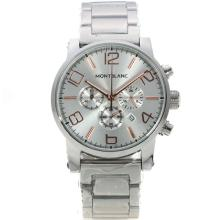 Replik Montblanc Time Walker Working Chronograph with Silver Dial – Attractive Montblanc Time Walker Watch for You 35954