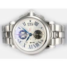 Replique Montblanc Star Chrono GMT Limited Edition Chronograph Swiss Valjoux 7750 Mouvement AR Revêtement avec cadran blanc - Attractive Montblanc Star Montre pour vous 35934