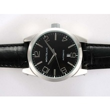 Replique Montblanc Time Walker automatique avec cadran noir - Attractive Montblanc Time Walker montre pour vous 35918