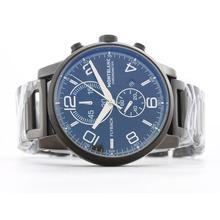 Replique Montblanc Flyback Chronograph de travail complet PVD Cadran Noir - Montre Montblanc Flyback attrayant pour vous 35851