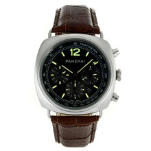 Replik Panerai Radiomir Automatic Green Markers with Black Dial-Leather Strap – Attractive Panerai Radiomir Watch for You 31077
