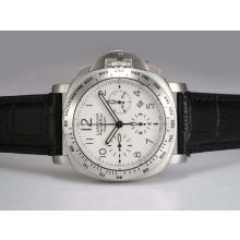 Replique Panerai Luminor Daylight Chronograph PAM 188 Swiss Valjoux 7750 Mouvement avec cadran blanc - Attractive Autres Panerai montre pour vous 31657