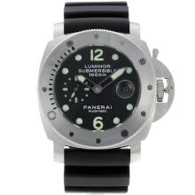 Replik Panerai Luminor Submersible Automatic with Black Dial-Rubber Strap – Attractive Panerai Luminor Submersible Watch for You 31034