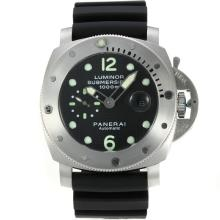 Replique Panerai Luminor Submersible automatique avec style fibre de carbone cadran noir-même châssis que la version ETA - Attractive Panerai Luminor Submersible Montre pour vous 31027