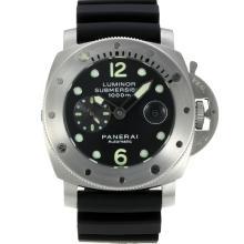 Replique Panerai Luminor Submersible automatique avec cadran noir-même châssis que la version ETA - Attractive Panerai Luminor Submersible Montre pour vous 31026