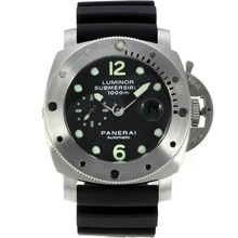 Replik Panerai Luminor Submersible Automatic with Black Dial-Same Chassis as ETA Version – Attractive Panerai Luminor Submersible Watch for You 31025