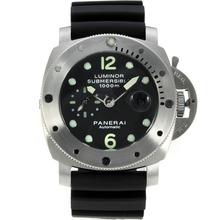Replique Panerai Luminor Submersible automatique avec cadran noir-même châssis que la version ETA - Attractive Panerai Luminor Submersible Montre pour vous 31025