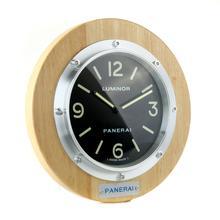Replique Panerai Luminor mur Case Bois Horloge avec cadran noir - Attractive Panerai Luminor Marina Montre pour vous 30851