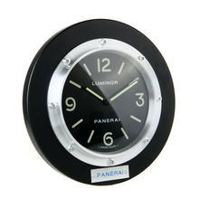 Replique Panerai Luminor Horloge murale en bois boîtier noir avec cadran noir - Attractive Panerai Luminor Marina Montre pour vous 30850