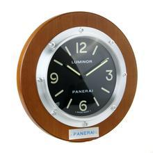 Replique Panerai Luminor Horloge murale en bois Case Brown avec cadran noir - Attractive Panerai Luminor Marina Montre pour vous 30849