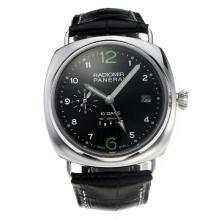 Replique Panerai Radiomir 10 Réserve jours d'alimentation automatique avec cadran noir-bracelet en cuir - Attractive Panerai Radiomir Montre pour vous 30797