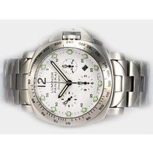 Replique Panerai Luminor PAM 251 Daylight Chronograph avec Swiss Valjoux 7750 Mouvement S / S - Attractive Autres Panerai montre pour vous 31592