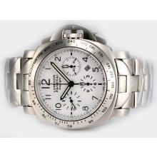 Replique Panerai Luminor PAM 188 Daylight Chronograph avec Swiss Valjoux 7750 Mouvement S / S - Attractive Autres Panerai montre pour vous 31591