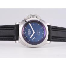 Replique Panerai Luminor PAM 233 8 Days GMT Automatic with Black Dial-puissance de travail - Réserve attrayant Panerai Réserve de marche / GMT Regarder pour vous 31469