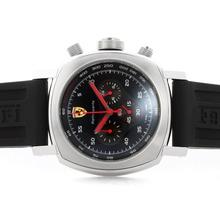 Replique Panerai Ferrari Pour-Chronographe avec cadran noir-Bracelet Caoutchouc - Attractive Panerai Ferrari par Panerai montre pour vous 31388
