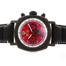 Replique Panerai Ferrari Pour Travailler Chronographe PVD affaire avec cadran rouge - Attractive Panerai Ferrari par Panerai montre pour vous 31364