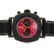 Replique Panerai Ferrari Pour Travailler Chronographe PVD affaire avec Red Dial-Marquage Numéro - Attractive Panerai Ferrari par Panerai montre pour vous 31363
