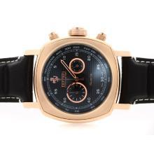 Replique Panerai Ferrari Pour-Chronographe en or rose avec cadran noir Style Carbone Fibre - Attractive Panerai Ferrari Panerai Regarder par pour vous 31353