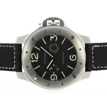 Replique Panerai Radiomir Unitas 6497 Mouvement avec Green Markers-surdimensionné version - Attractive Autres Panerai montre pour vous 31317