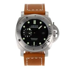Replique Panerai Luminor Submersible automatique avec cadran noir-bracelet en cuir 47MM - Attractive Panerai Regarder The Ultra Big 47mm pour vous 31302