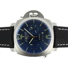 Replique Panerai Luminor GMT 8 Jours automatique avec cadran bleu - Attractive Panerai Réserve de marche / GMT Regarder pour vous 31299