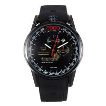 Replik Tag Heuer Mikrogirder 2000 Automatic Full PVD with Black Dial-Red Needle 27281