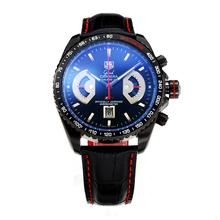 Replique Calibre Tag Heuer Grand Carrera 17 RS2 PVD Limited Edition travail Chrono-même Structure En 7750 Version-Haute Qualité - Attractive Tag Heuer Carrera Montre pour Vous 28277
