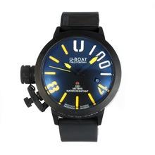 Replique U-Boat Italo Fontana Montre Automatique PVD complet avec Dark Blue Dial-Jaune Marqueurs - Attractive U-Boat Italo Fontana Montre pour vous 35150