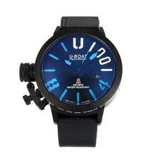 Replique U-Boat Italo Fontana Montre Automatique PVD complet avec Dark Blue Dial-Bleu Marqueurs - Attractive U-Boat Italo Fontana Montre pour vous 35147