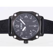 Replik U-Boat Thousands of Feet Automatic PVD Case with Black Dial-White Marking – Attractive U-Boat Thousands of Feet Watch for You 35392
