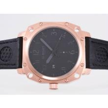 Replik U-Boat Thousands of Feet Automatic Rose Gold Case with Black Dial-Gray Marking – Attractive U-Boat Thousands of Feet Watch for You 35387