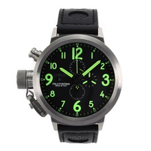 Replik U-Boat FlightDeck 50mm Working Chronograph with Green Marking-Updated Version – Attractive U-Boat FlightDeck Watch for You 35369