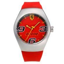 Replique Ferrari avec Red Dial Rubber Strap-- Attractive Regarder Ferrari pour vous 36951