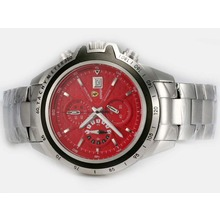 Replique Ferrari de travail Chronographe avec cadran rouge - Attractive Regarder Ferrari pour vous 37195