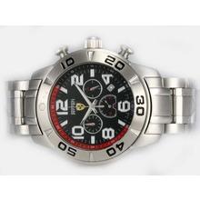 Replique Ferrari-Chronographe avec cadran noir - Attractive Regarder Ferrari pour vous 37190