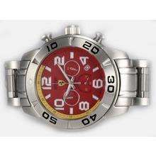 Replique Ferrari de travail Chronographe avec cadran rouge - Attractive Regarder Ferrari pour vous 37188