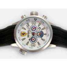 Replique Ferrari-Chronographe Cadran Blanc - Attractive Regarder Ferrari pour vous 37183
