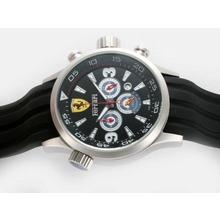 Replique Ferrari-Chronographe avec cadran noir - Attractive Regarder Ferrari pour vous 37182