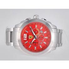 Replique Ferrari de travail Chronographe avec cadran rouge - Attractive Regarder Ferrari pour vous 37147