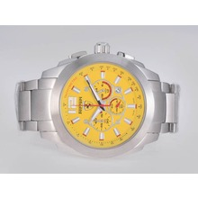 Replique Ferrari de travail Chronographe avec cadran jaune - Attractive Regarder Ferrari pour vous 37146