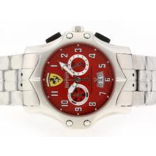 Replique Ferreri travail Chronographe avec cadran rouge - Attractive Regarder Ferrari pour vous 37142