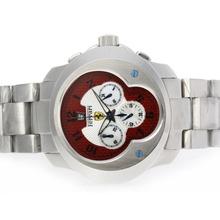 Replique Ferrari Chronographe de travail avec Red Style fibre de carbone Dial-Nombre Marqueurs S / S - Attractive Ferrari montre pour vous 37141